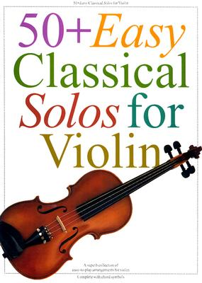 50 Plus Easy Classical Solos for Violin By Hal Leonard Publishing Corporation (COR)